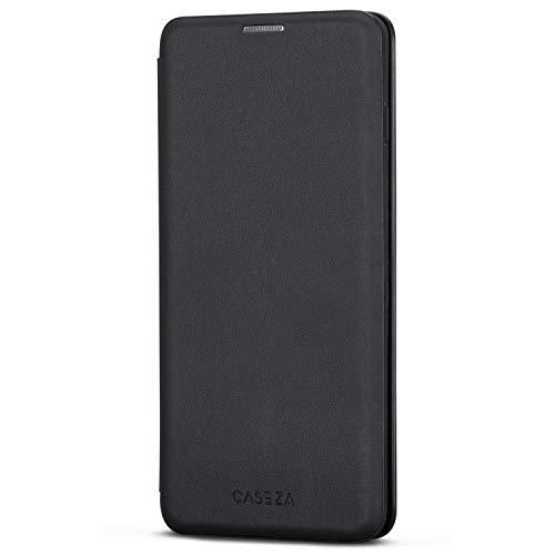 CASEZA Funda Galaxy S10 Negro Tipo Libro Piel PU Case