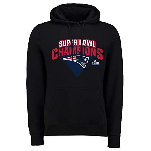 Fanatics NFL Super Bowl LIII Champions Hoody - New England Patriots (Patriots T-shirts Super Bowl)