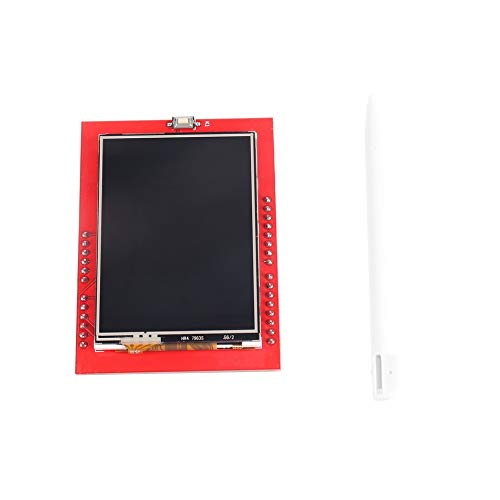 Feketeuki 2,4-Zoll-TFT-LCD-Display Schild Touch Panel ILI9341 240X320 für Arduino UNO MEGA 2560 - Rot Analog-resistive Touch Screen