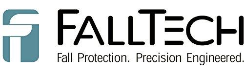 FallTech 82709sa5Duratech Max Single Bein Web SRD mit Swivel Eye & Aluminium, Mehrzweckmesser, Haken 9', Compact, Blau (9' Single)