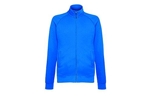 Fruit of the loom Herren Sportjacke Lightweight Sweat Jacket, Blau (Royal Blue 51), Medium