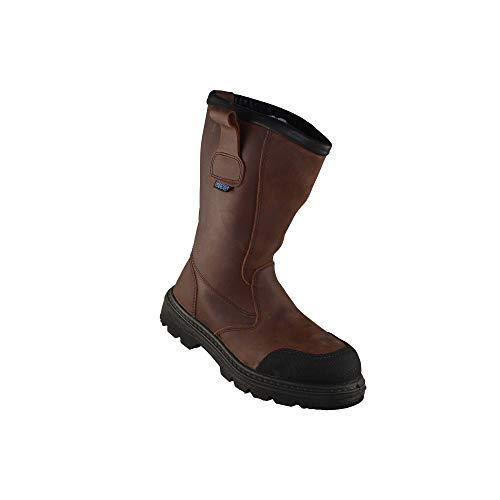 Giss AAU99 S3 CI SRC Work Shoes Professional Shoes Boots Brown, Size:38 EU