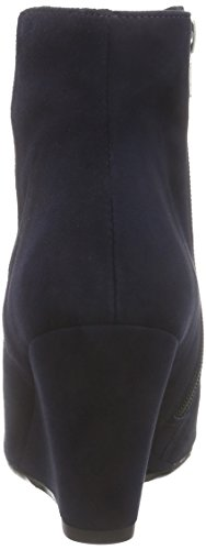 Mentor Mentor Ankle Wedge, Bottes Classiques femme Bleu (navy Suede)