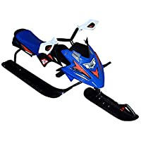 xelba Snow Racer - Trineo con Freno, Color Azul