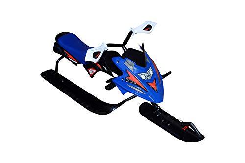 xelba Snow Racer blau Lenkschlitten mit Bremse Bob Schlitten