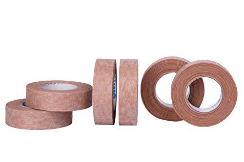 Micropore - nastro adesivo chirurgico 3m, ipoallergenico, dimensioni: 1,25 cm x 9,1m, confezione da 6 unità, colore: marrone chiaro