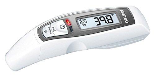 Beurer FT-65 - Termómetro digital multifunción (6 funciones), color blanco