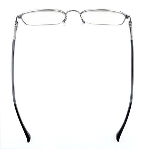 Eyekepper Monture de Lunettes de vue / de lecture - belle comfort - ultra mince +0.00 anti argente