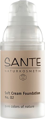 Sante 42086 - Maquillaje Fluido Soft Cream Light Beige 30ml