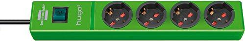 Brennenstuhl 1150615194Steckdosenleiste Modell: Hugo!, grün