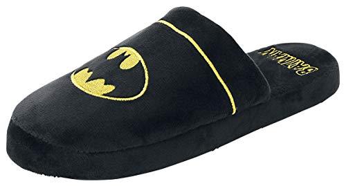 Batman Logo Hausschuh schwarz one Size