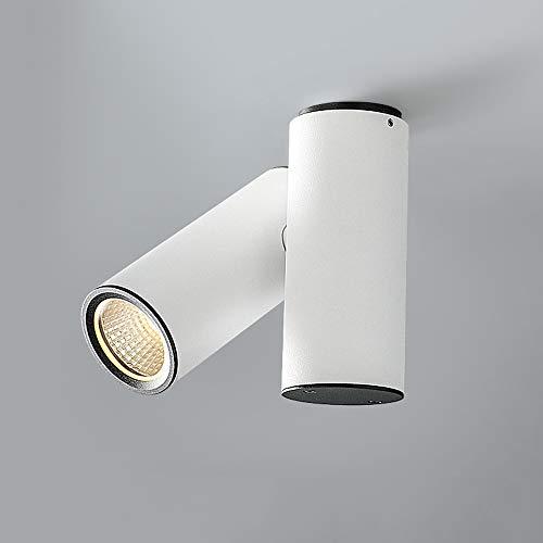 HviLit Kreative 5W 360 ° drehbare LED Strahler Deckenleuchten Aufbaustrahler Zylinder Downlight 3000 / 4000K Akzent COB Beleuchtung Kommerzielle Deko Einstellbare Flächenleuchte