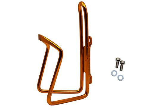 JABs Aluminium Trinkflaschenhalter Rennrad Flaschenhalter Fahrrad Getränkehalter Orange