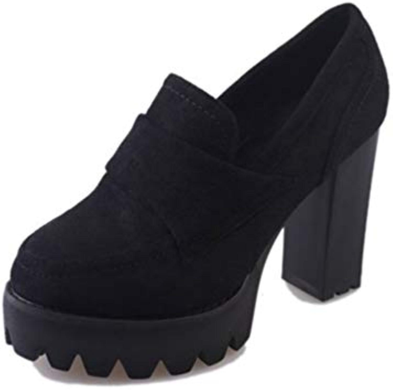 JRenok Femmes Plate-Forme Chaussures de Mode Occasionnels Glisser Chaussures sur Refroidir augHommes té Chaussures Glisser internes 5cmB07H2DFX33Parent 8be5ae