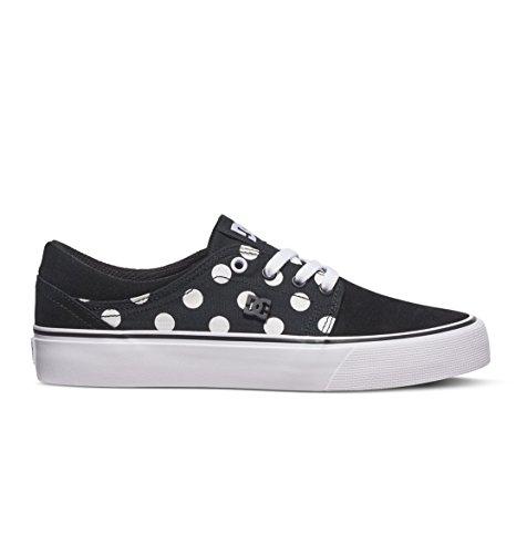DC Shoes Trase SE - Chaussures pour Femme ADJS300144 BLACK/WHITE PRINT