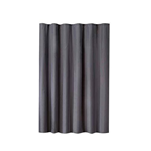 Nhk-mx tenda impermeabile per doccia, grigio poliestere 100 * 180 cm o 100 * 200 cm può essere selezionato