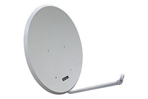 Opticum LH80 SAT Antenne Aluminium, Farbe: Lichtgrau