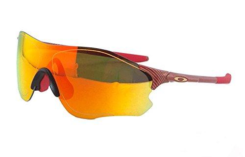 Oakley EV Zero Path Prizm Fire Iridium Männer Rechteckig Mode Sonnenbrille