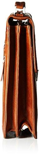 JOST 4252-007 Aktentasche, 40 cm, Cognac Cognac