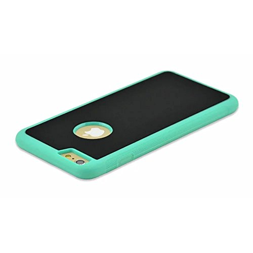 Self-adhesive Coque pour iPhone 7 Anti-Gravity Case iPhone 7 Anti-Slip Couverture iPhone 7 Nano-suction technology Etui iPhone 7 4.7 Pouces Retardateur Selfie Universal Case,Vandot iPhone 7 Coque Inno Nano-vert