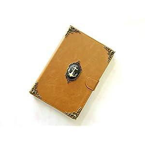 Anker Ipad Lederner Fall Handgemachte Ipad Abdeckung für Ipad Mini 1 2 3 4 Ipad Luft 2 Ipad Pro 9.7 Zoll 12.9 Zoll Ipad Pro 10.5 Inch Case Cover Mn0308