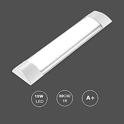 Bellanny 20W Plafoniera LED Soffitto, 60cm Ultra Sottile Plafoniere Barra LED Cucina Tubo LED, per Bagno,Showroom,Ufficio,Officina-2400 Lumen,Bianco Neutro(4500K)