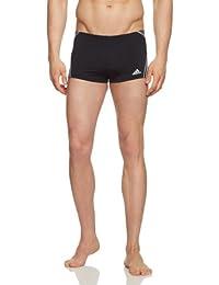 fd63f0e3fbea Adidas Infinitex+ Adiclub Pantaloncini da Nuoto, Nero/Grigio, Taglia 5