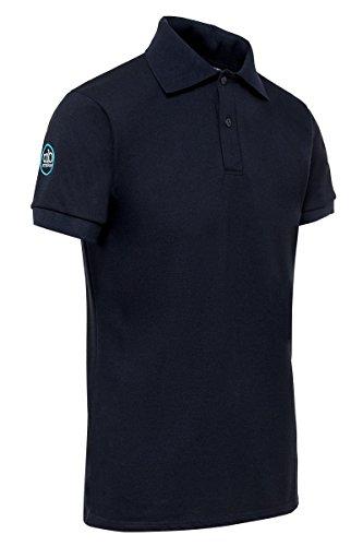 STINGbye Herren Poloshirt Dunkles Marineblau