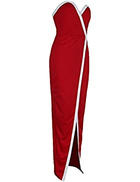 D Dolity Vestido de Fiesta Mujer Muchacha Ropa Época Antigua Diseño Verano Bodycon Playa