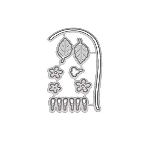 Kalttoy Scrapbooking Stanzschablone Stanzen Schneiden Schablonen Stanzformen, für Sizzix Big Shot/Cricut Cuttlebug/und andere Stanzmaschine