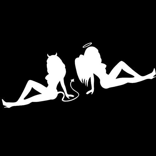 AimeFor Sexy Teufel und Engel Auto Auto Aufkleber -