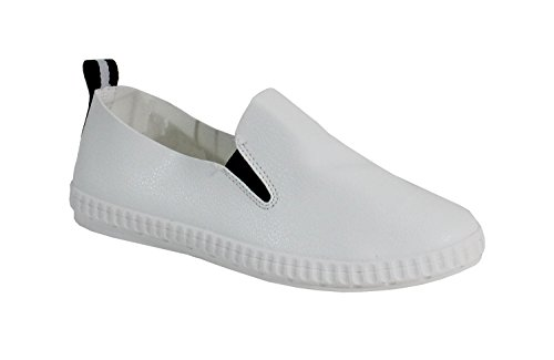 Par Chaussures - Shoe Relax Donna White Black