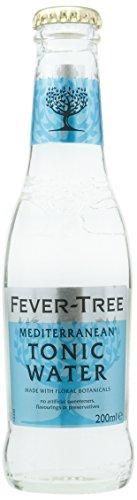 Fever Tree Mediterranean Refrescos - Paquete de 24 x 200 ml - Total: 4800 ml