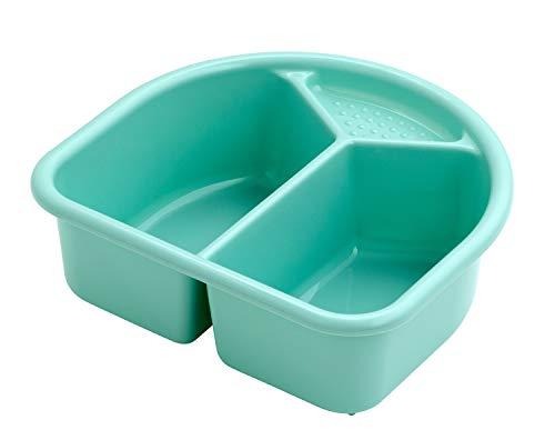 Rotho Babydesign Waschschüssel, 4l, Ab 0 Monate, TOP, Curacao Blue (Grün-Blau), 200060235