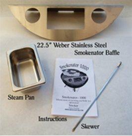 SMOKENATOR 1000 Kettle Barbecue to Smoker Converter