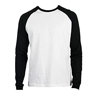 Promodoro - Baseball Shirt Heavy Jersey M,White/Black