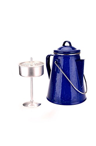 Enamel Coffee Pot OCK-EPC-D Use as a coffee percolator, kettle or teapot – Includes separate percolator – 8 cup capacity (2L) 31B8Pq8hDrL