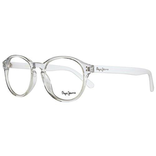Pepe Jeans P3058C3Colby Brillengestelle P3058 C3 Colby Oval Brillengestelle 49, Grau