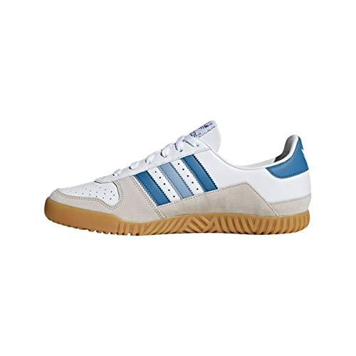 adidas Herren Indoor Comp SPZL Cross-Trainer Weiß Ftwwht/Supcol/Cbrown, 45 1/3 EU -