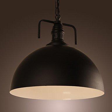 60W moderne Pendelleuchte mit schwarzem Hemisphäre Shade und Fabrik-Art-Ketten ( Spannung : 110-120V ) (120-volt-kette)
