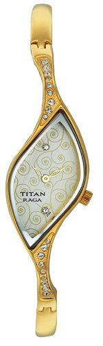 Titan Raga Analog Multi-Color Dial Women's Watch - NE9710YM01J image