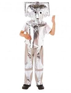 Doctor Who Cyberman Costume (6 - 8 Years)