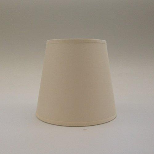 Creme Kleine Kerze Clip auf Lampenschirm Deckenleuchte Kronleuchter Wandleuchte Lampe Lampenschirm handgefertigt Baumwolle Stoff
