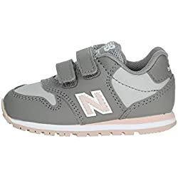 New Balance KV500 PGI Zapatos de bebé de Color Rosa Gris Sneak Sneak 26