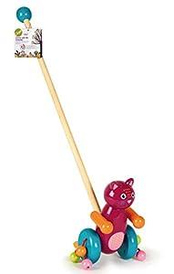 Oops Mr. Jerry - Juguete de Madera para Paseo, diseño de Gato