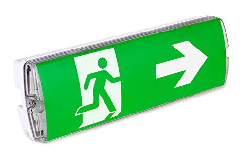 Bronson Notbeleuchtung Fluchtwegbeleuchtung LED Notlicht zur Wandmontage