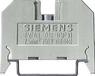 Preisvergleich Produktbild Siemens–Dreistockklemme 26A Beige t-2,5