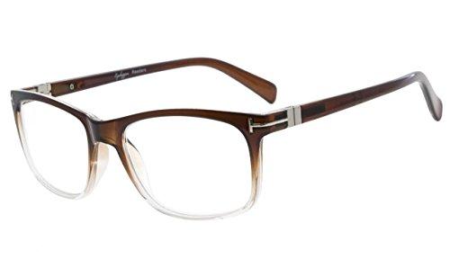 Eyekepper Lesebrille Mode Lesen Brillen Männer Frauen (Braun, 1.75)