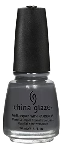 China Glaze Concrete Catwalk Nail Polish Lacquer with Hardeners