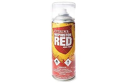 Bombe de sous-couche Citadel - Mephiston Red